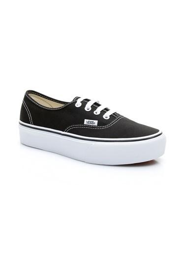 Vans Vans UA Authentic Platform Sneaker Siyah
